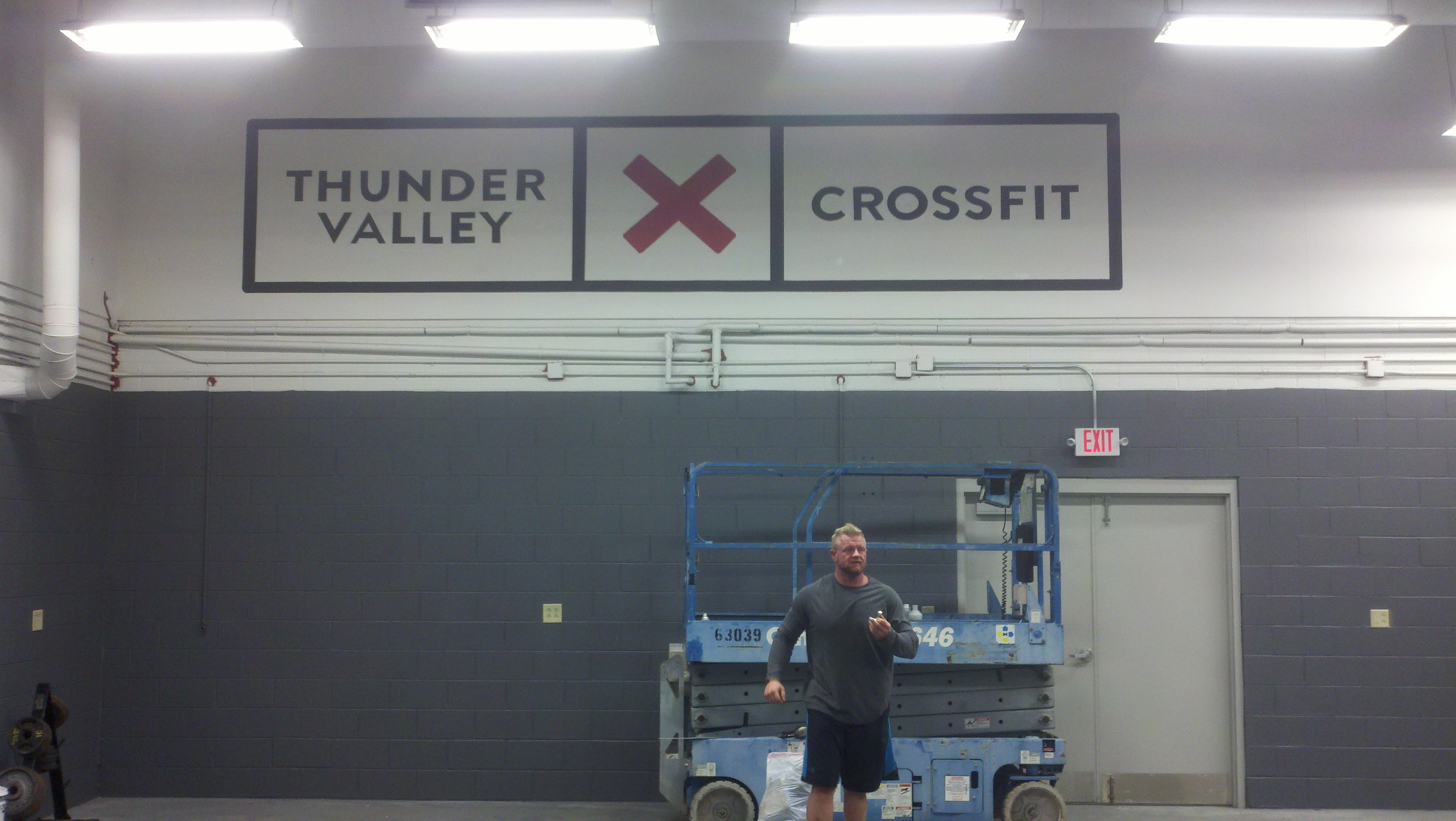 Thunder Valley CrossFit Logo