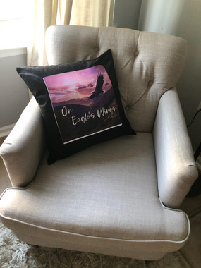 On Eagle's Wings Pillow in Chair.jpg