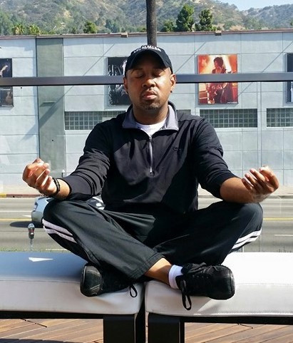 LT Turner Jr's Morning Meditation - Roof Top of the Moment Hotel (Sunset Blvd - Los Angeles, CA)