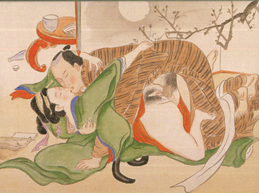 Japanese erotic prints in the Naomi Wilzig Art Collection