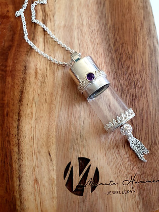 Amethyst Queen with tassel