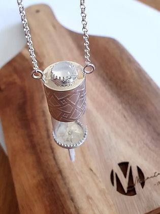 Moonstone Geo with tassel