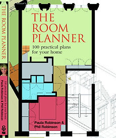 """Compact living solutions. Flexible space. Adding value to your home. Re-designing your home. Practical home plans. Home inspiration. Simple home solutions.""""The Room Planner: 100 practical plans for your home"""" by Paula Robinson Rossouw. Room plans. Cover of US edition of 'The Room Planner: 100 practical plans for your home"""" by Paula Robinson Rossouw"""