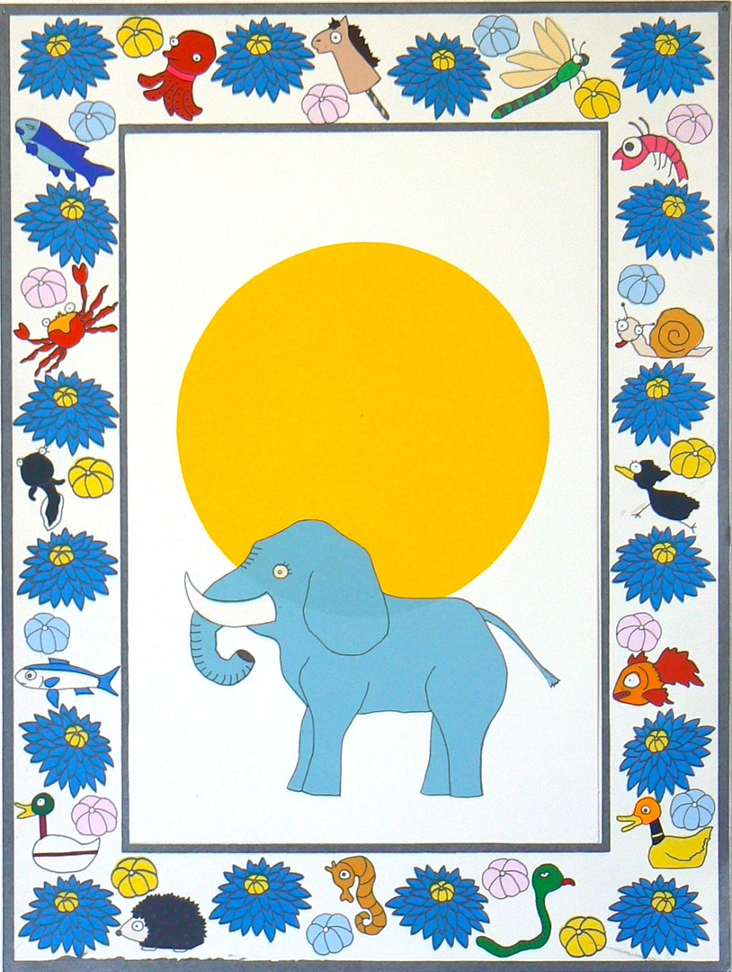 Frustrated of Guardians-Elephant