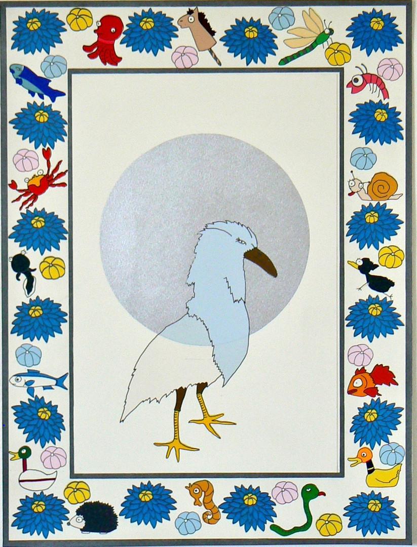Frustrated of Guardians-Secretary Bird