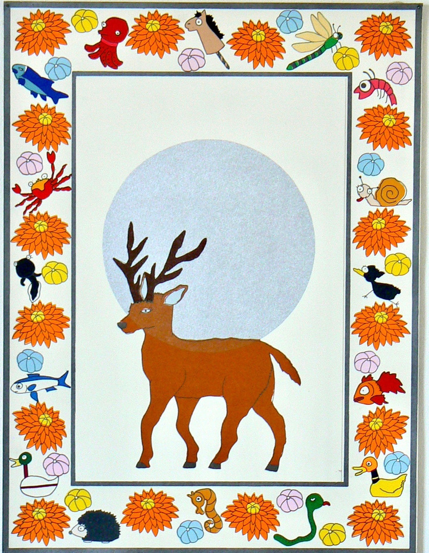 Frustrated of Guardians-Deer