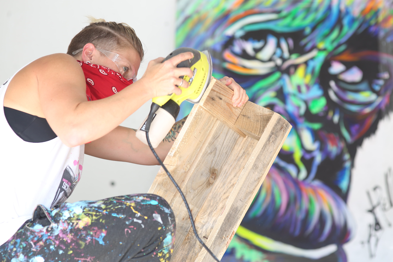 Creating Artist Alley
