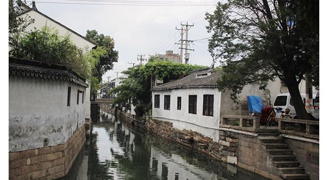 old town suzhou, china, 2017