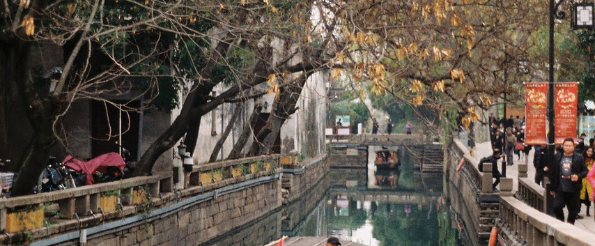 old town suzhou, china - dec 2019