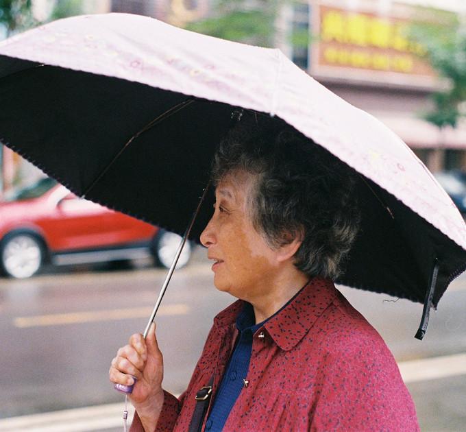 grandma in hainan, china - dec 2019