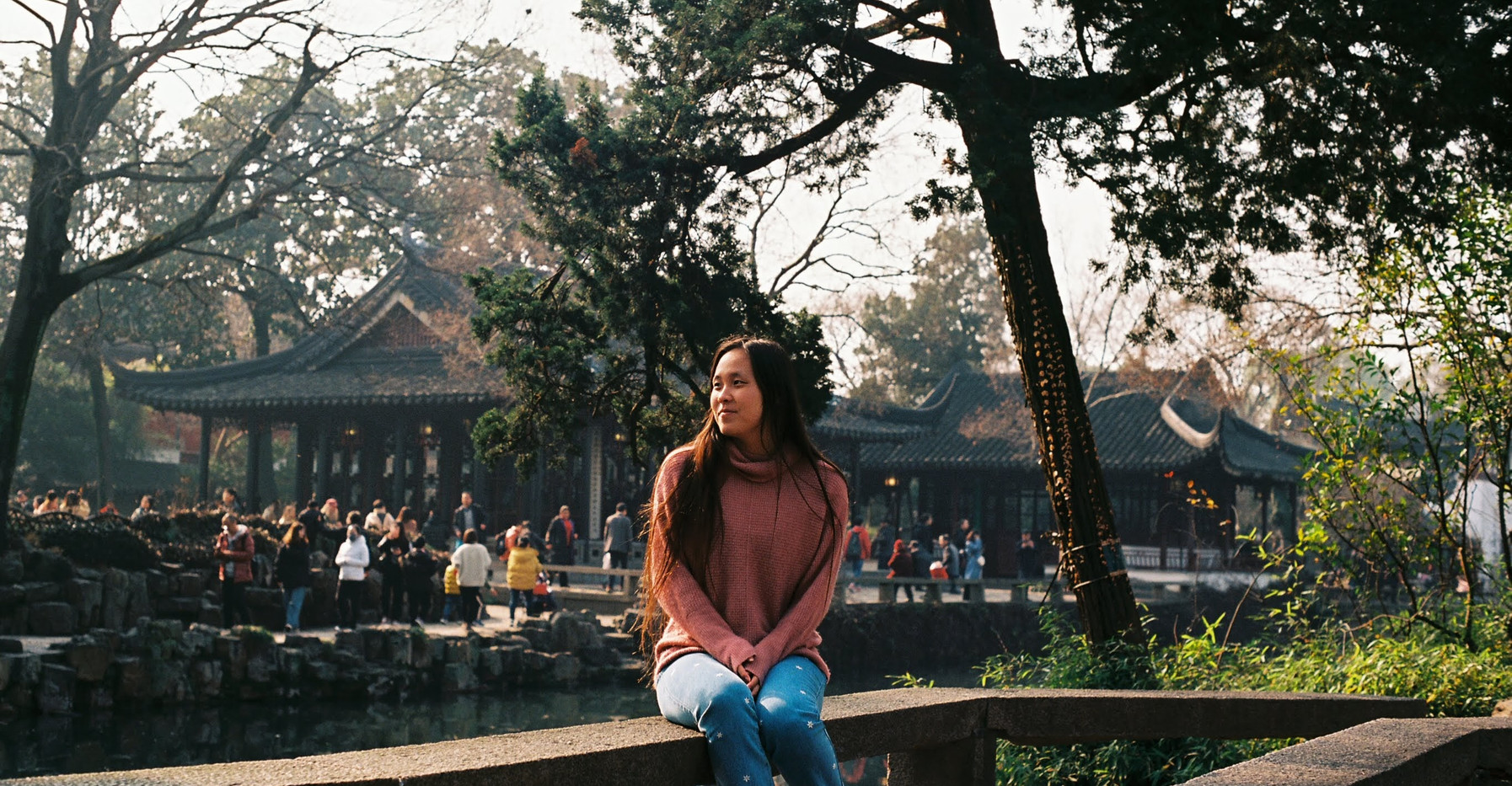 vic in the humble administrator's garden, china - dec 2019
