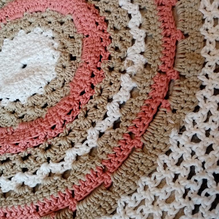 Atelier -  tapis de sol au crochet