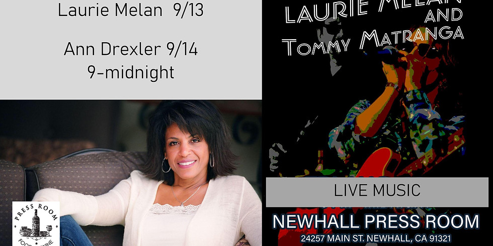 LIVE MUSIC 9/13 and 14 9-midnight