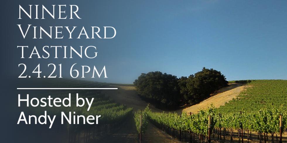 NINER Vineyard tasting 2.4.21