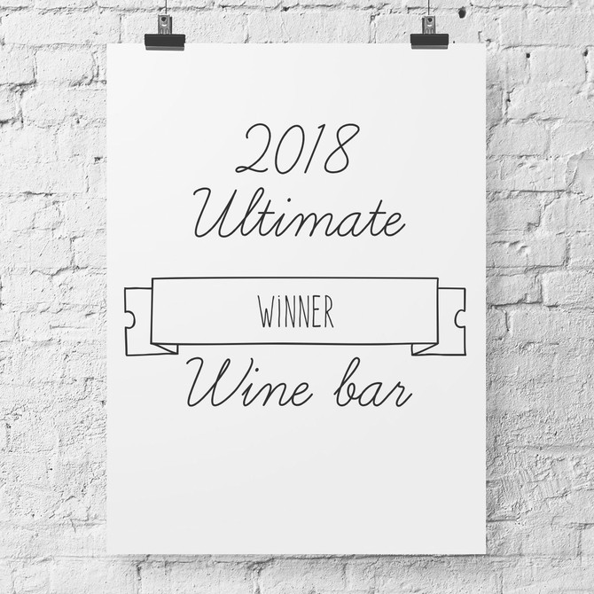 2018 Ultimate Wine Bar winner