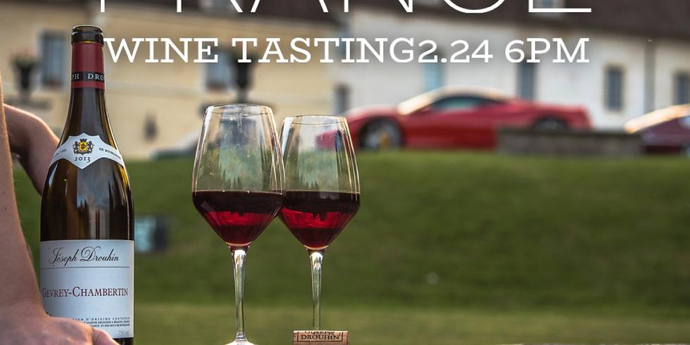 Burgundy tasting 2.24 6pm