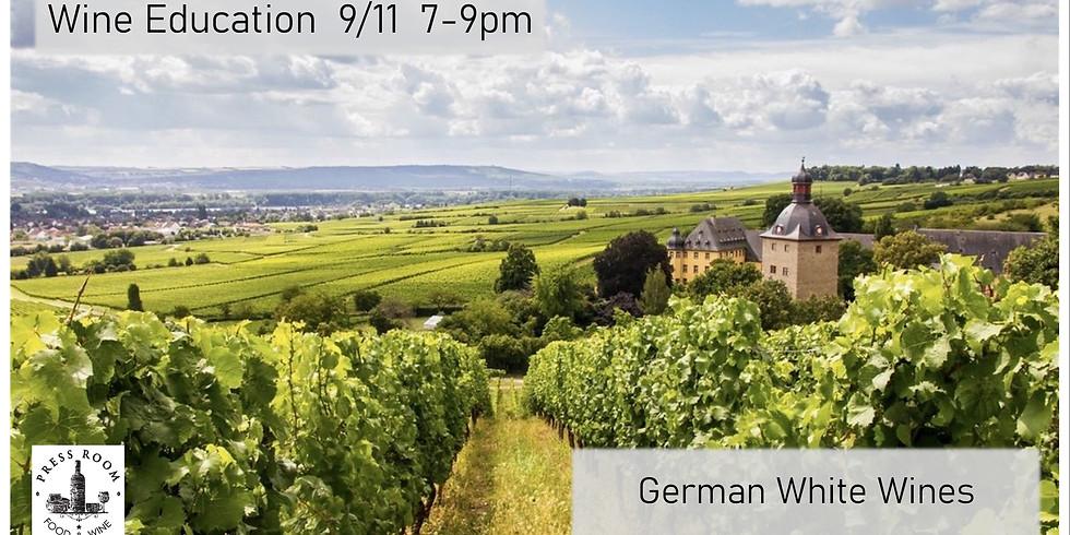 Wine Education: German White Wine