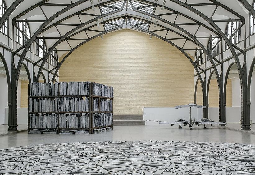 Knut Henrik Henriksen, Hamburger Bahnhof, Berlin, Architectural Doubt, Site-spesific art, sculpture, kunst, art,