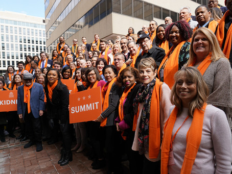HDU Partner with NKF National Patient Summit