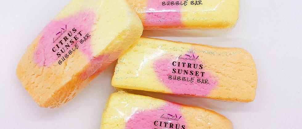 Citrus Sunset Bubble Bar