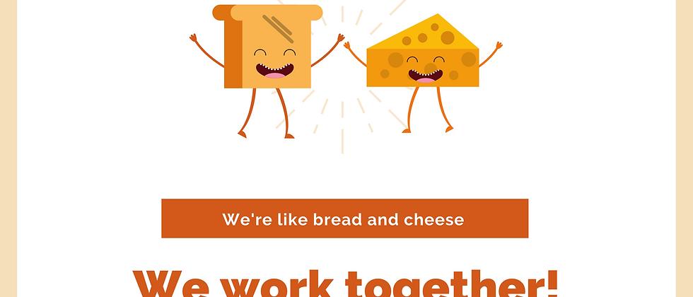 We Work Together Card