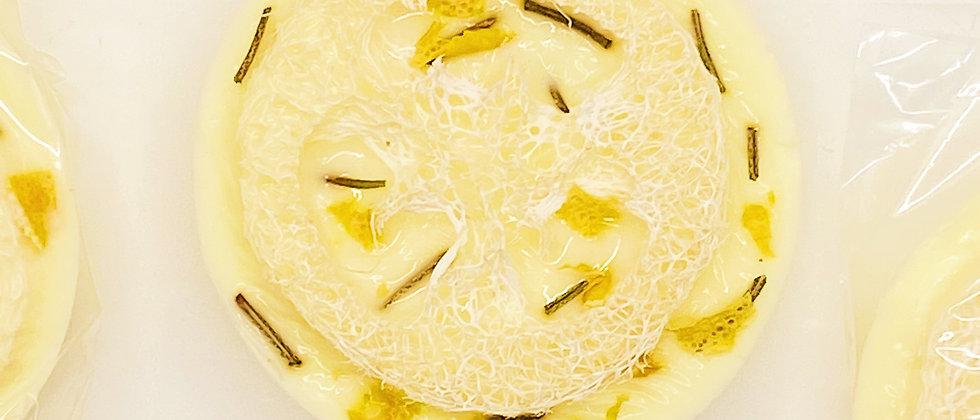 Lemon Rosemary Loofah Soap