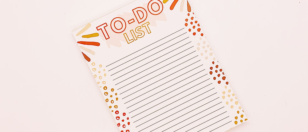 To-Do List Memo Pad
