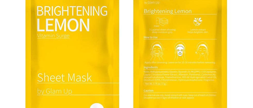 Brightening Lemon Sheet Mask