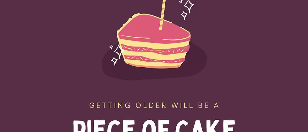 Piece of Cake Birthday Card