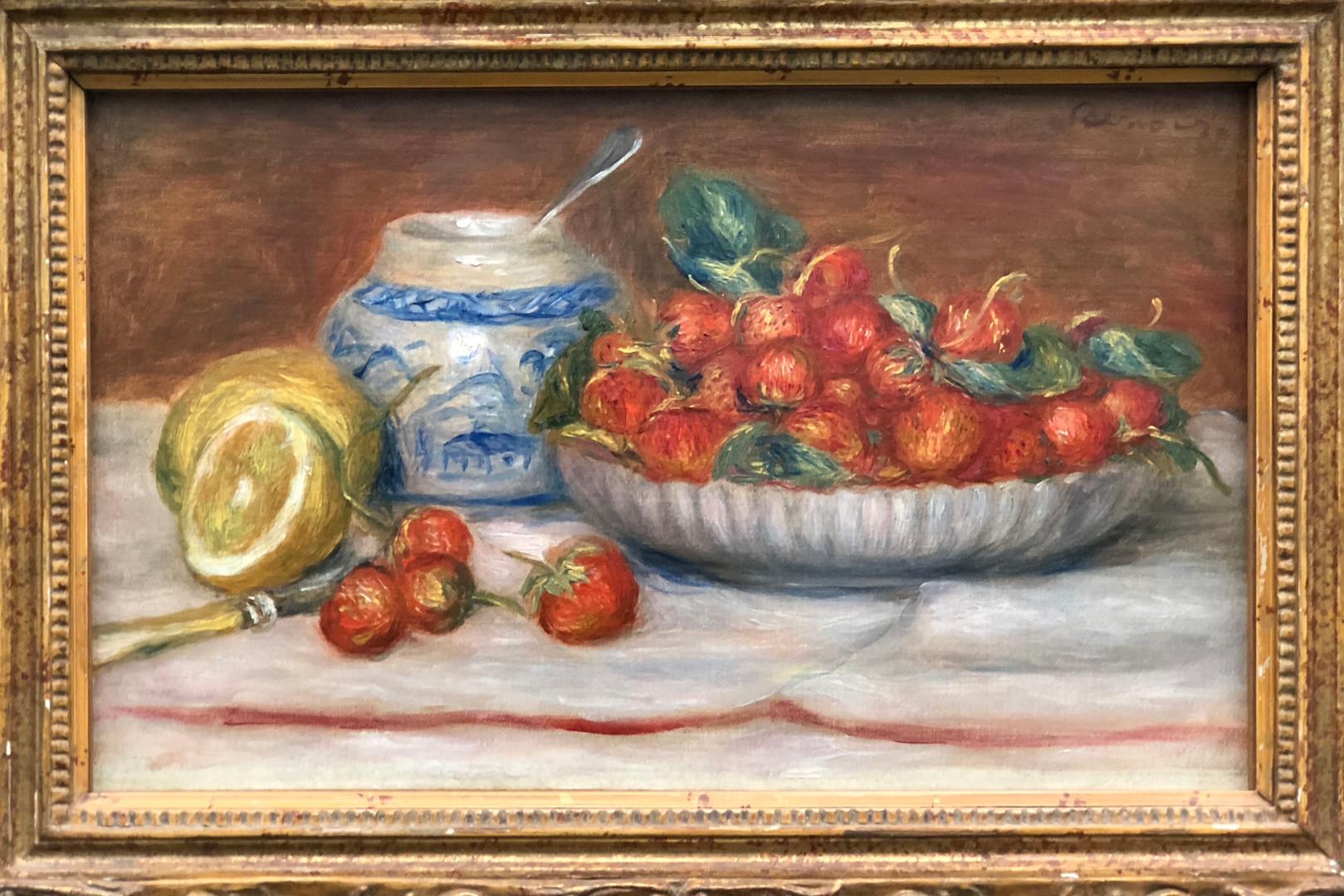 Renoir  'Fraises'
