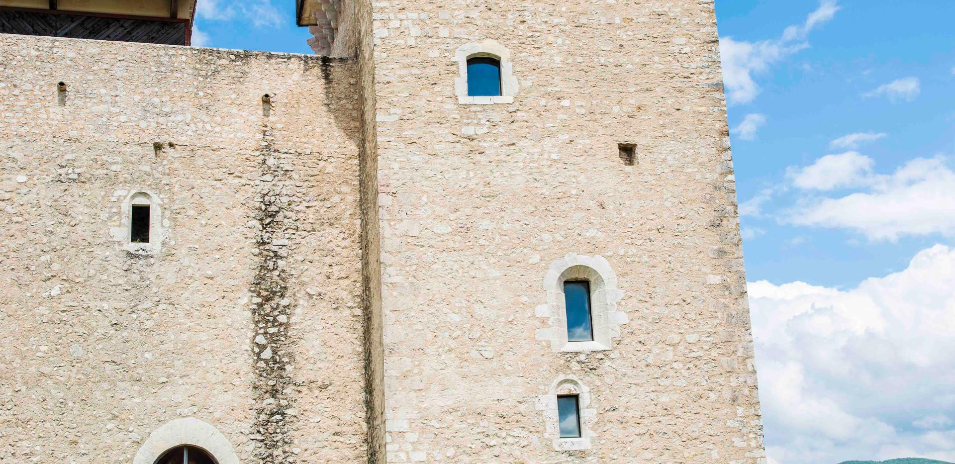 Spoleto castle tower