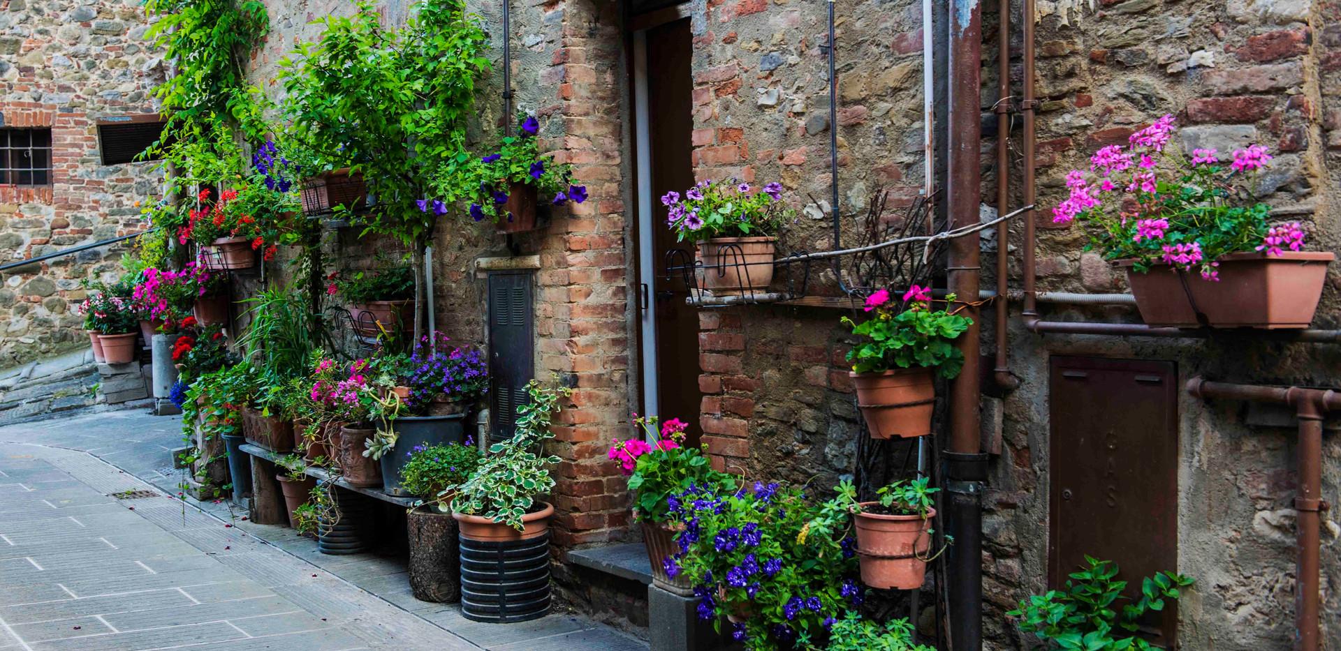 Piegaro Street scene