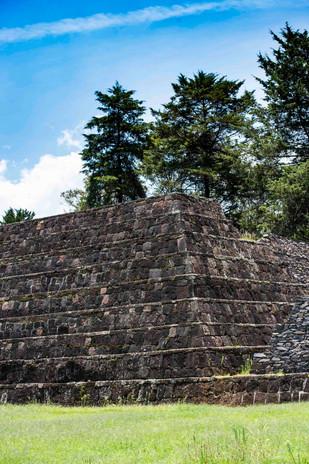 Yacatas near Tzintzuntzan