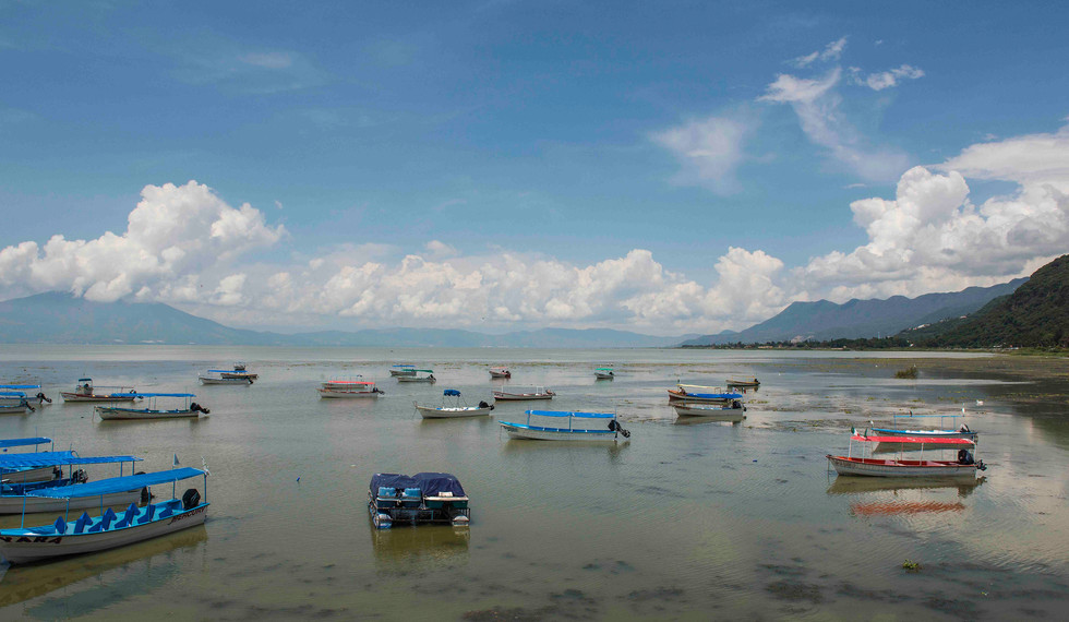 Lake Chapala from Chapala Pier