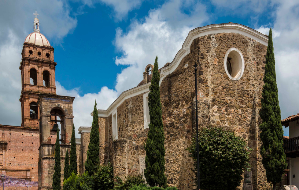 the churches in Tapalpa