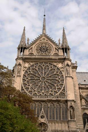 Notre Dame south window - exterior