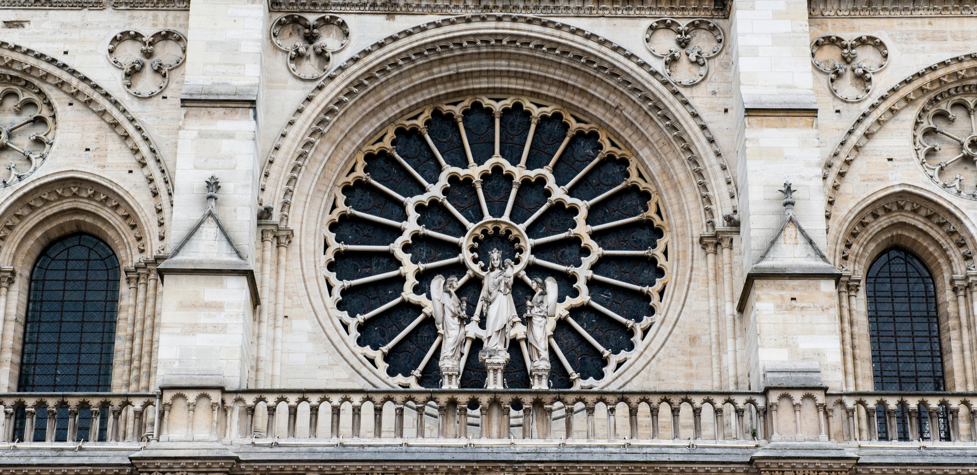 Entry Rose Window