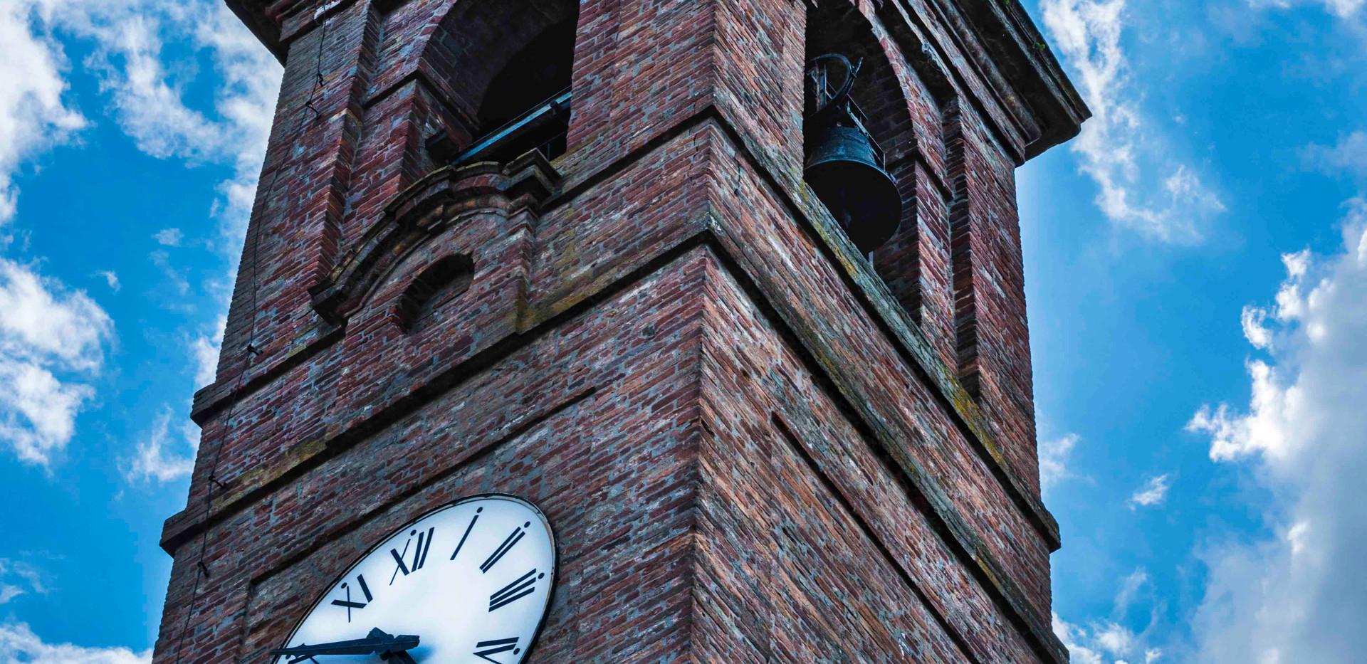 Piegaro clock tower