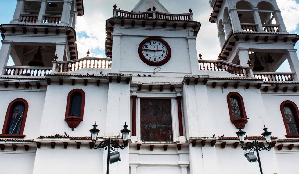 Mazamitla Church & Sky