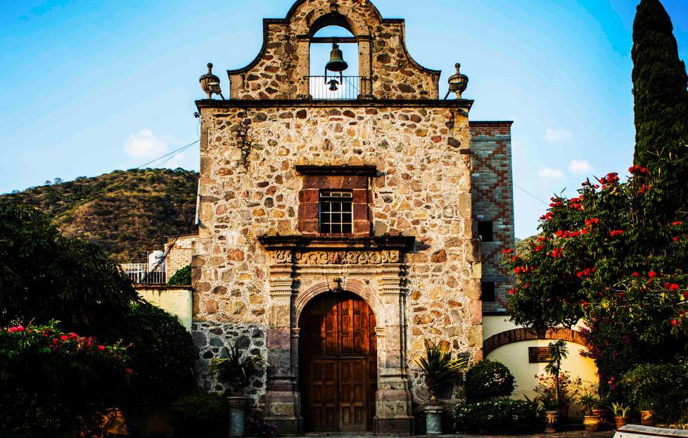 """The """"old"""" church - Ajijic"""