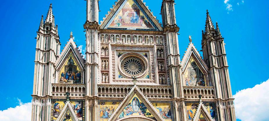 Orvietta Duomo facade