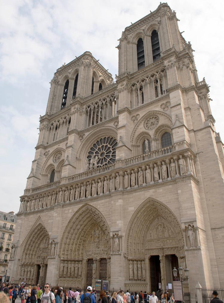 Notre Dame West entrance