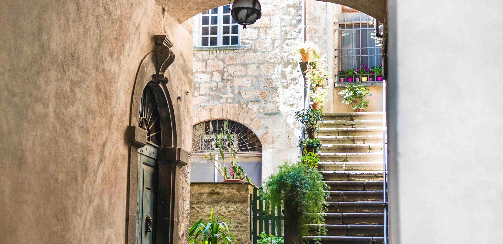 Orvietta walkway