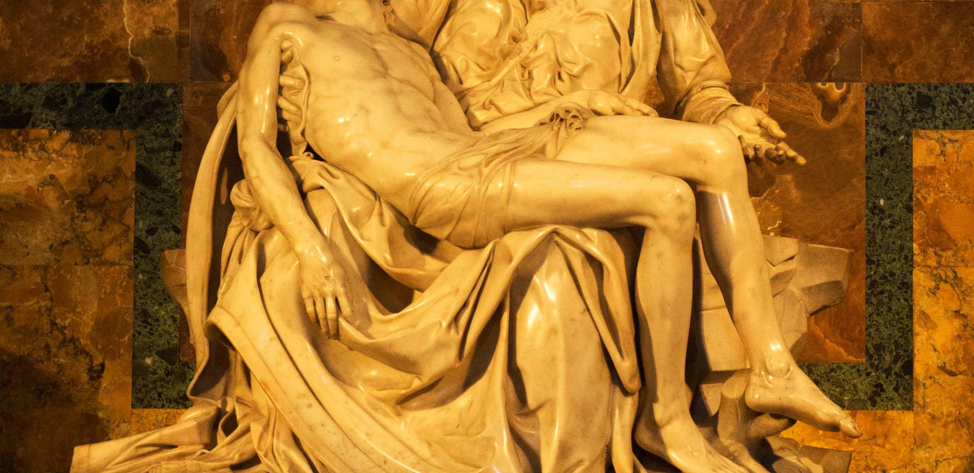 La Pieta by Micheangelo - St. Peter's
