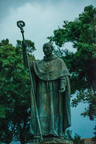 statue of Vasco de Quiroga