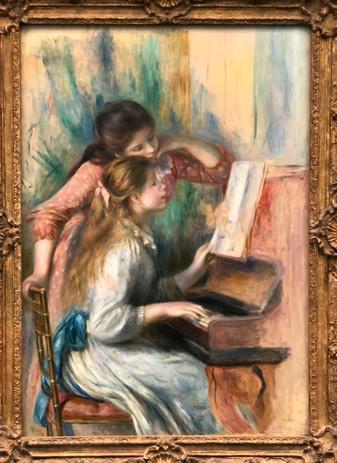 Renoir 'Girls at the Piano'