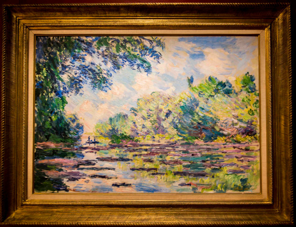 Monet - 'the Seine near Giverny'