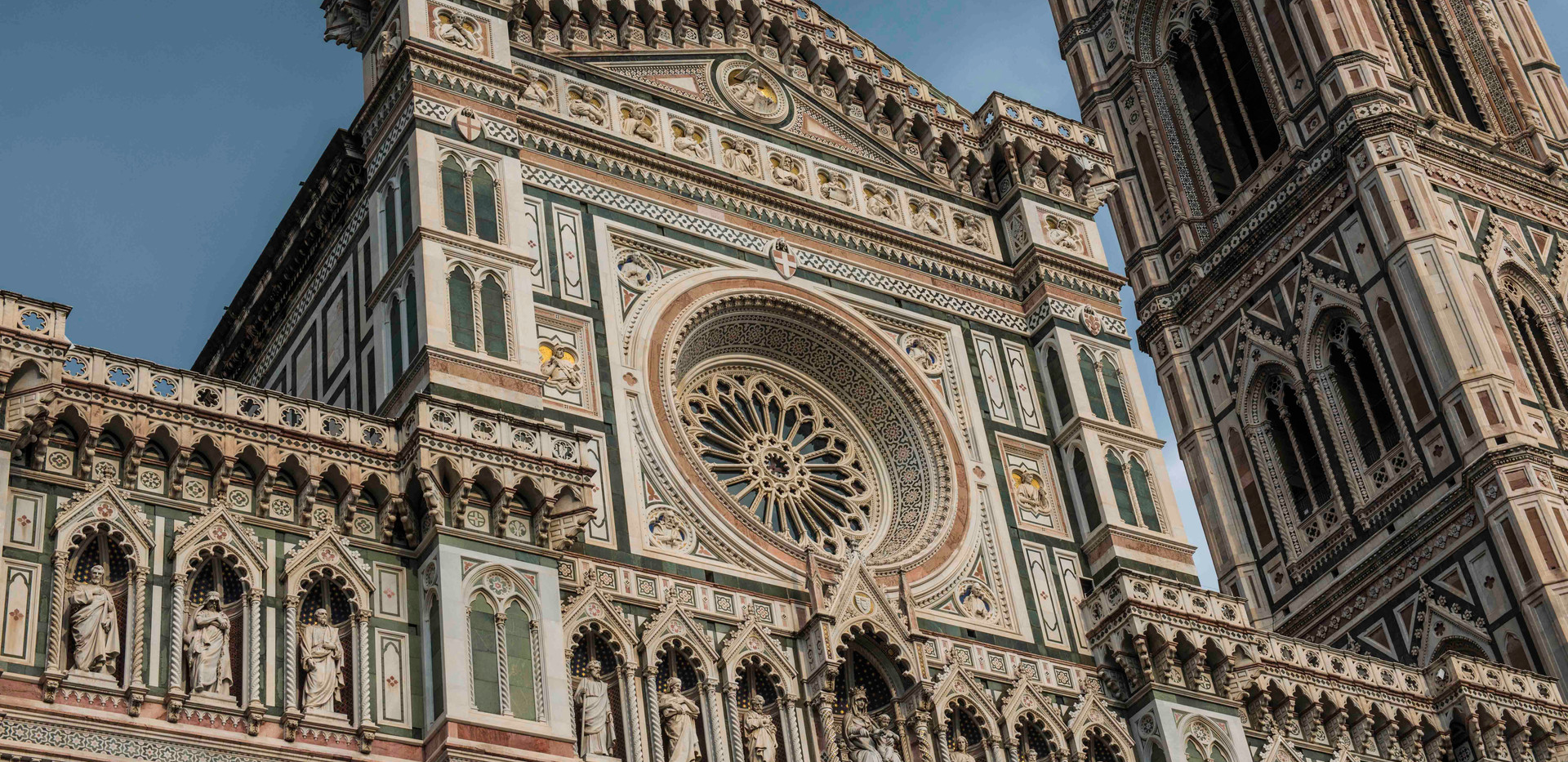 Florence Duomo and rose window