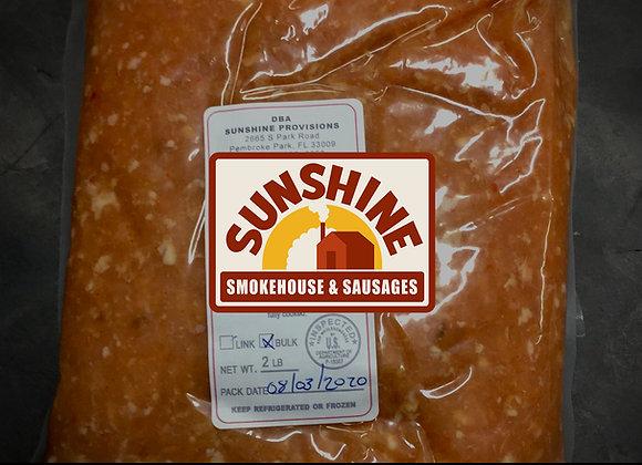 Chicken Italian Sausage, Mild (Bulk) Americlean