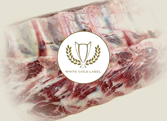 Beef Ribeye Bone In Whole Uncleaned Prime, White Gold Label